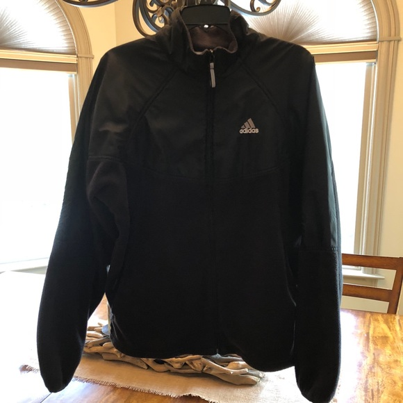 adidas fleece jacket